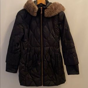 Juicy Couture Black Winter Coat. Size Small